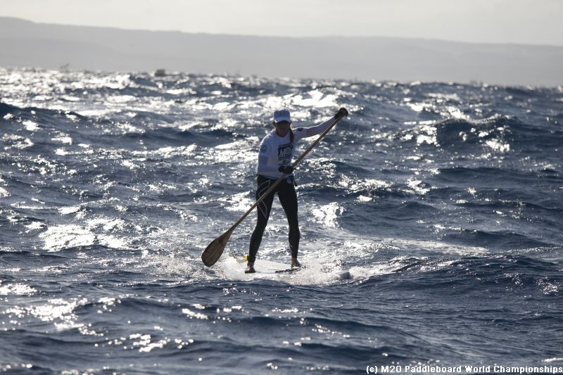 the 2011 Molokai paddle board race