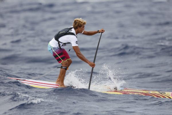 Kai Lenny at 2016 Molokai 2 Oahu Paddleboard World Championships