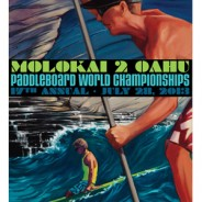 Renowned Ocean Artist Unveils Official Artwork for 2013 Molokai 2 Oahu Paddleboard World Championships